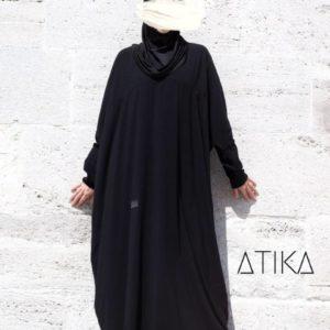 Abaya Mufida schwarz_opt